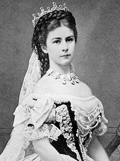 Empress Elisabeth of Austria Empress consort of Austria,