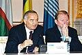 Islam Karimov and Leonid Kuchma 2001.jpg