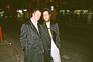 Young Ashkenazi Jewish followers of the minori...