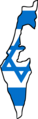 Israel Ekelon Mapflag.png
