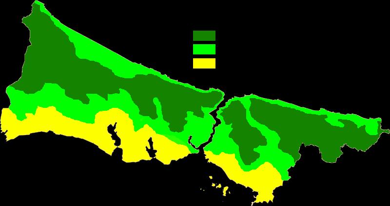 Istanbul Köppen Map