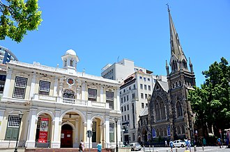 Iziko South African Museum - Iziko Old Town House Museum and Central Methodist Church, Cape Town (2017)
