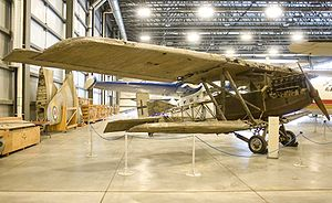 Junkers J.I - Surviving example in Canadian museum