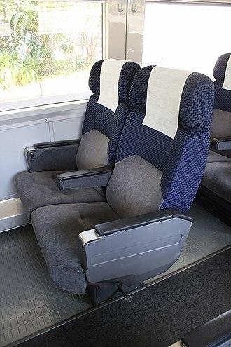 255 series - Image: JRE series 255 saro 255 1 seat