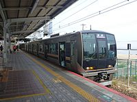 JRW 321 at JR Suma Station 20130608.jpg