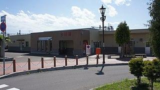 Nanae Station Railway station in Nanae, Hokkaido, Japan