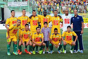 Clasico kabylo-algérois - Image: JS Kabylie, 2014 08 23