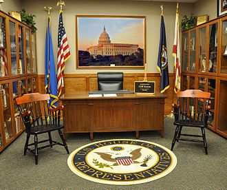 Cliff Stearns - Replica of Stearns' congressional office.