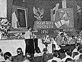 J Sirie giving opening speech, Tambahan dan Pembetulan Pekan Buku Indonesia 1954, p20.jpg