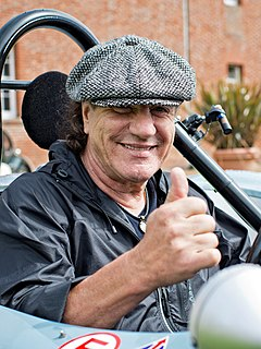 Brian Johnson English singer and songwriter