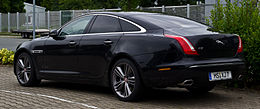 Jaguar XJ 3.0 D-S Supersport (X351) – Heckansicht, 30. Juni 2013, Münster.jpg