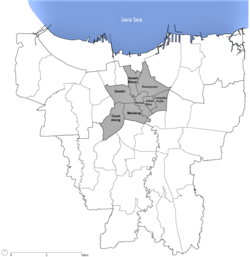 Map Jakarta Pusat