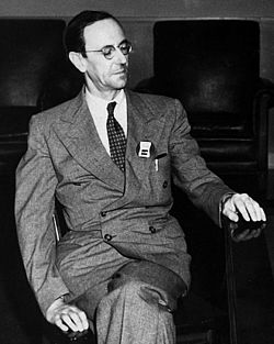 Portrait en 1945
