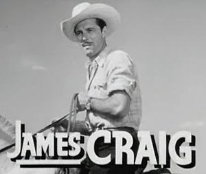 James Craig (actor) - Craig in Boys' Ranch (1946)