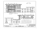 James Mareau Brown House, 2328 Broadway, Galveston, Galveston County, TX HABS TEX,84-GALV,1- (sheet 4 of 8).png