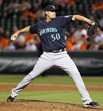 Jamey Wright - Wright pitching for the Seattle Mariners in 2011