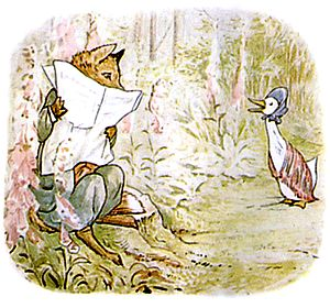 Image result for jemima puddle duck