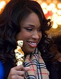 Photo of Jennifer Hudson in 2007.