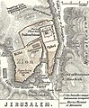 Jerusalem. 1865 Spruner Map of Israel, Canaan, or Palestine in Ancient Times - Geographicus - Canaan-spruner-1865.jpg