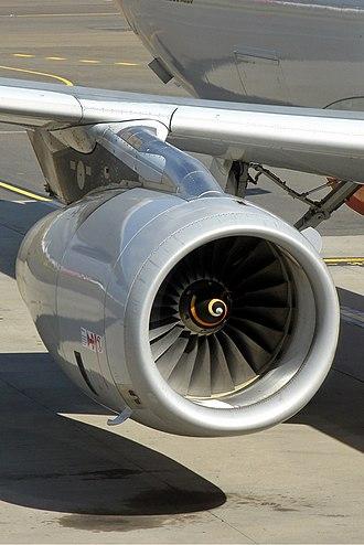 IAE V2500 - V2500 on a Jetstar Airways A320