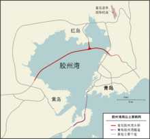 Jiaozhou Bay - road zh.png