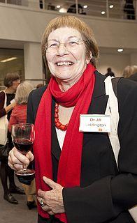 Jill Liddington British writer and academic (born 1946)