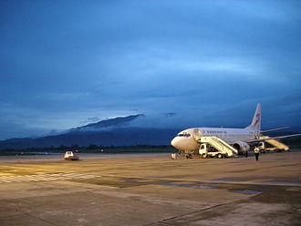 Xishuangbanna Gasa Airport - Image: Jinghong airport
