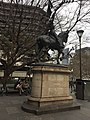 Joan of Arc statue at State Library of Victoria - July 2021.jpg