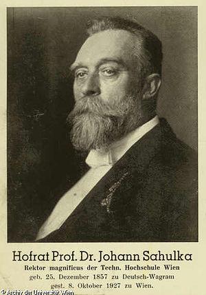 Johann Sahulka