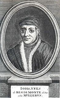 Regiomontanus German mathematician and astronomer