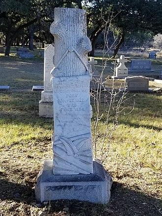 John R. Baylor - Image: John.Baylor grave site
