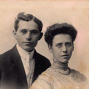 John Abner Snell - John Abner Snell and Grace Birkett