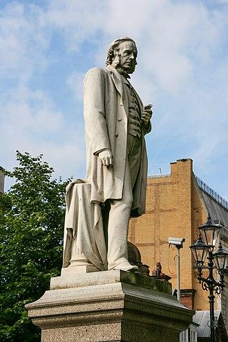 Albert Bruce-Joy - Image: John Bright statue, Albert Square, Manchester 2