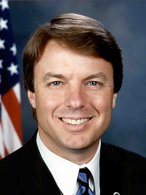 John Edwards, official Senate photo portrait (cropped)