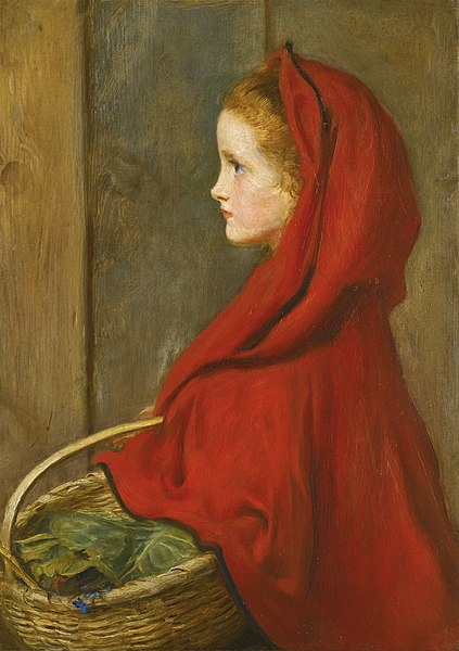 File:John Everett Millais Red Riding Hood.jpg