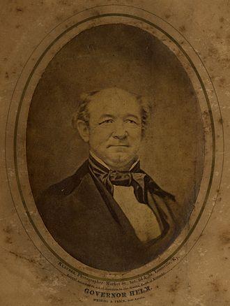 John L. Helm - John L. Helm photographed by Klauber, Louisville, Kentucky, undated.