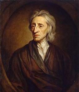 John Locke, who was the first to develop a liberal philosophy, including the right to private property and the consent of the governed John Locke.jpg