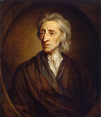 John Locke was the first to develop a liberal philosophy, including the right to private property and the consent of the governed John Locke.jpg