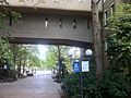 John Medley Building Arched Walkway, May 2013.JPG