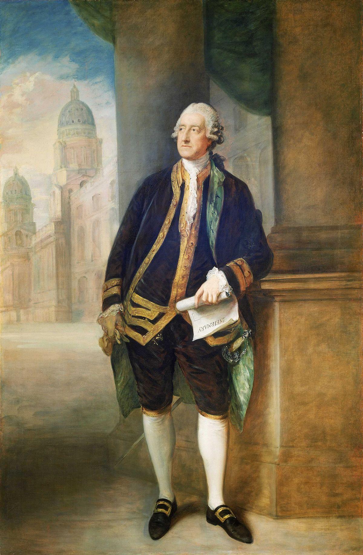 John Montagu 4th Earl Of Sandwich Wikipedia Clock Quotcircuit Boardquot Design Le Dindon