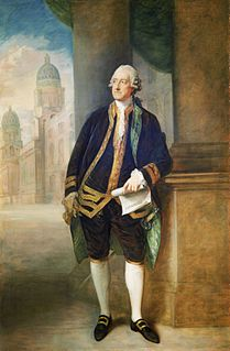 John Montagu, 4th Earl of Sandwich British statesman