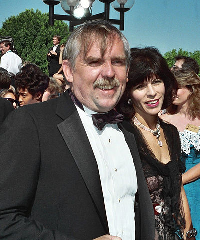 John Ratzenberger on the red carpet at the 1992 Emmy Awards.jpg