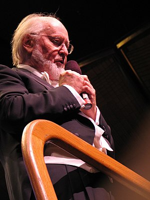 Golden Globe Award for Best Original Score - Image: John Williams tux