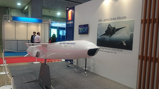 Joint Strike Missile Mockup at JA2016