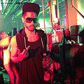"""Jon Redwine at the Cassie """"I Love It"""" ft Fabolous Video shoot.JPG"""