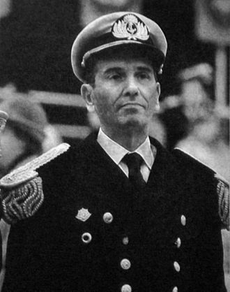 Falkland Islands sovereignty dispute - Commander-in-chief of the Argentine Navy, Admiral Jorge Anaya