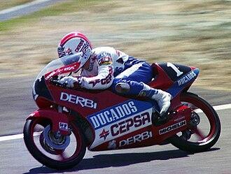 Jorge Martínez (motorcyclist) - Martínez at the 1989 Japanese Grand Prix.