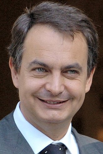 2004 Spanish general election - Image: José Luis Rodríguez Zapatero 2004 (cropped)