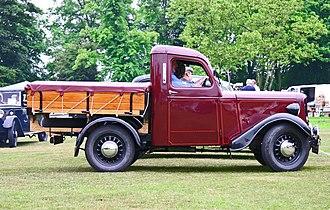 Jowett Bradford - Image: Jowett Bradford Truck