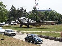 Ju52 Luftfahrtmuseum am Flughafen Belgrad.jpg